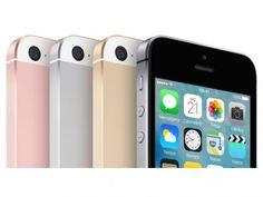 """iPhone SE Apple 16GB Cinza Espacial 4G Tela 4"""" - Retina Câm. 12MP iOS 9 Proc. Chip A9 Touch ID com as melhores condições você encontra no Magazine Fbxvendas. Confira!"""