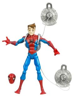 Spiderman Animated Action Figure  Peter Parker -- You can find more details by visiting the image link.