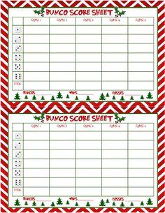 Recipes from Stephanie: Christmas Bunco