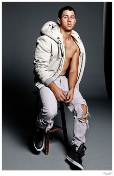 See More Images from Nick Jonas Flaunt Cover Shoot image Nick Jonas Flaunt 2014 Photo Shoot 004