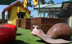 AB Paterson College Playground - Art Dinouveau