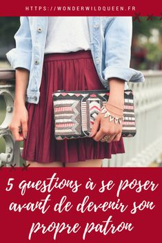 5 questions à se poser avant de devenir son propre patron #entrepreneur #entrepreneuriat #girlboss #business