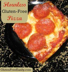 Flourless, Doughless, Gluten-Free Pizza from Gluten-Free Easily