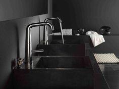 http://www.designmag.it/foto/salone-del-bagno-2016-le-novita_10179_2.html Il design pulito e minimalista della collezione rubinetti Likid di Nobili.