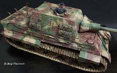 1/16  Jagdtiger remodeled KingTiger