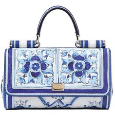 DOLCE & GABBANA Jeans Printed Dauphine Shoulder Bag ($1,495) ❤ liked on Polyvore featuring bags, handbags, shoulder bags, purses, bolsas, borse, print handbags, shoulder hand bags, purse shoulder bag and snap closure purse