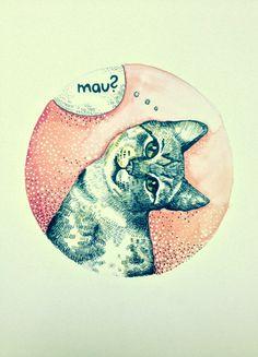 """""""Mau?"""" by TINA MINOR"""