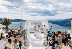 Le Ciel Santorini Wedding Venue. Le Ciel is on the Caldera in Imerovigli…