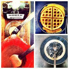 Mmm... waffles.