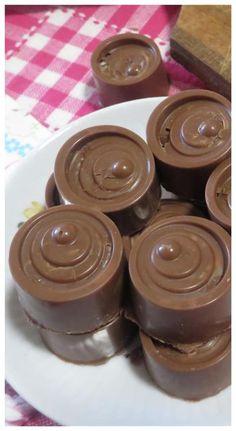 24 Ideas For Desserts Chocolate Recipes Treats Quick Easy Desserts, Desserts For A Crowd, Mini Desserts, Chocolate Sweets, Chocolate Recipes, Apple Recipes, Sweet Recipes, Chocolates, Cheesecake Recipes