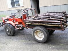 Vintage FORD LT75 Lawn Tractor, Riding Mower, Runs/Works