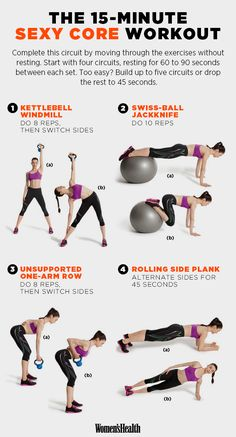 The Best 15-Minute Workouts for 2015 | Women's Health Magazine This series and a whole lot more!
