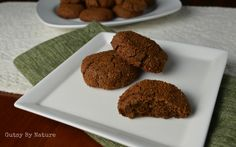 Paleo Gingersnaps... made with cassava flour! - Gutsy By Nature