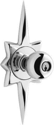 Starburst Door knob plate