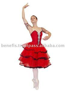 Сценический испанский костюм для балета