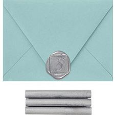 Shop the selection of wax seals, stamps and sealing wax from Paper Source to start sealing letters like a pro! Featuring no-mess glue gun wax. Office Holiday Party, Paper Source, New Year Card, Glue Gun, Wax Seals, How To Better Yourself, Presentation, Stationery, Sealing Wax
