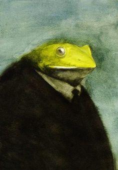 Mr. Froggy.Akitaka Ito, Japan.