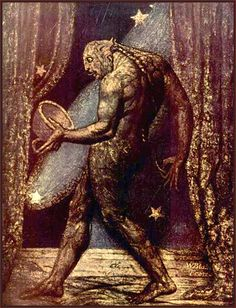 """""""The Ghost of a Flea"""" - William Blake"""