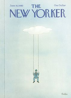 The New Yorker - Monday, June 30, 1980 - Issue # 2889 - Vol. 56 - N° 19 - Cover by : Robert Tallon