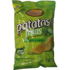 Snack Patatas con sabor a limon compose une variété de collations à base de pommes de terre aromatisées au citron bio. http://www.latinomarket.fr/39-43-thickbox/patatas-con-sabor-a-limon-65gr.jpg
