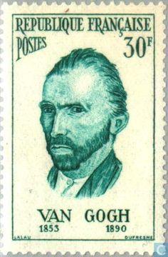 Postage Stamps - France [FRA] - Vincent van Gogh