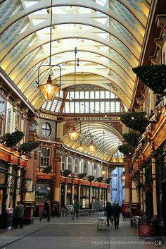 Leadenhall market.Londres.