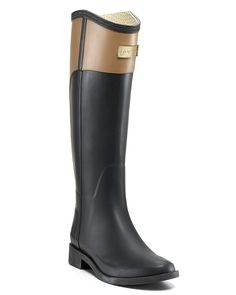 Rain boots- Riding boot style