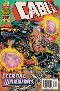 CABLE # 35  ONSLAUGHT PHASE 2  MARVEL COMICS  nm(9.4) ~