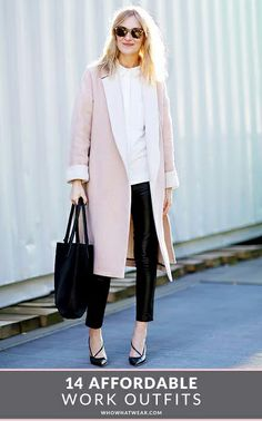 Perfect work outfits that you can actually afford #streetstyle #fashion