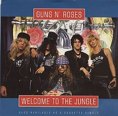 """Radio XV, side B, track 1: """"Welcome To The Jungle"""" by Guns N' Roses"""