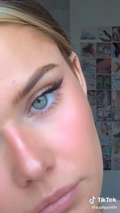 Dewy Makeup, Makeup Eye Looks, Dramatic Makeup, Pretty Makeup, Flawless Face Makeup, Subtle Makeup, Makeup Eyes, Maquillage On Fleek, Makeup Looks Tutorial