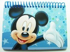 BooToolTM Disney Mickey Autograph Book  Light Blue by BooTool * Click for Special Deals  #DisneyAutographBooks