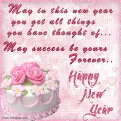 Happy new year new year s and clip art on pinterest