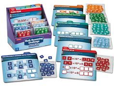 Math Reasoning Challenge Activity Kit - Gr. 5 at Lakeshore Learning