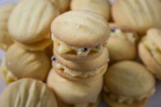 Lemon Passionfruit Melting Moments biscuitsAustralian Flavours | Australian Flavours