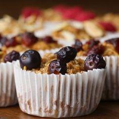 Apple Cinnamon Oatmeal Muffins - Adicionar 1 cdta. de Bicarbonato de Sodio