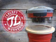 BUILD: Bucket Vac Cyclone Separator - YouTube