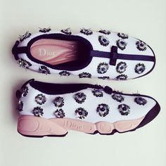 From Kate Bosworth's Instagram, Dior's Haute Couture sneakers // #CelebrityStyle