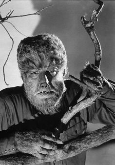 Lon Chaney Jr. as The Wolf Man (1941)