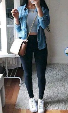 Outfits con Jeans negro