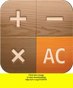 Wooden Calculator for iPhone, iphone, ipad, ipod touch, itouch, itunes, appstore, torrent, downloads, rapidshare, megaupload, fileserve