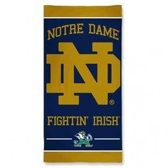 Notre Dame Fighting Irish Beach Towel