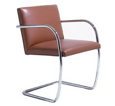 Brno Chair   Tubular Design By Ludwig Mies Van Der Rohe, 1930