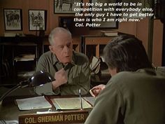 BEST M*A*S*H Quote!