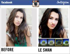 Facebook introduce nuevos filtros en Instagram #humor