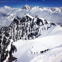 In Chamonix for the Arc'teryx Alpine Arc'ademy