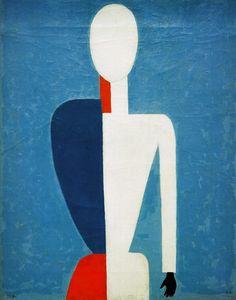 Bild:  Kasimir Malewitsch - K.Malevich / Torso (Prototype..)