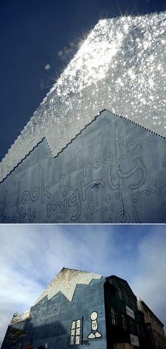Sequin Graffiti / theresa himmer