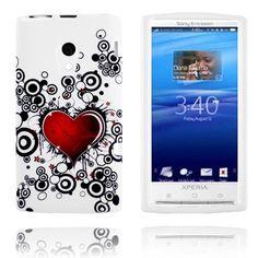 Symphony (Hjerte Sirkel) Sony Ericsson Xperia X10 Deksel