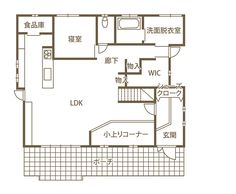 窓を開け放てば、心地よい風。 自由で爽快な西海岸スタイル。|(株)ビルド (香川県仲多度郡多度津町) - 香川の家 Floor Plans, House, Home, Homes, Floor Plan Drawing, Houses, House Floor Plans